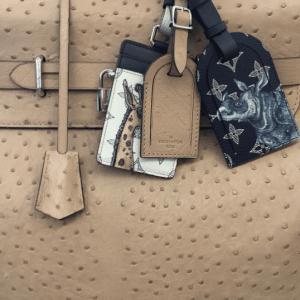 Louis Vuitton Safari Luggage Tags - Spring 2017