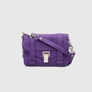 Proenza Schouler Amethyst PS1 Mini Crossbody Bag