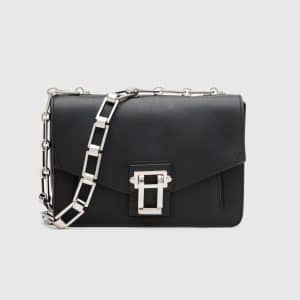 Proenza Schouler Black Hava Chain Bag