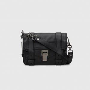 Proenza Schouler Black PS1 Mini Crossbody Bag