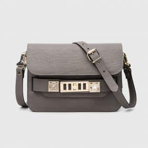 Proenza Schouler Heather Grey PS11 Mini Classic Bag