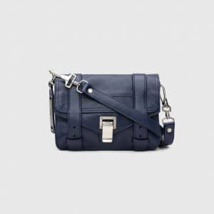 Proenza Schouler Indigo PS1 Mini Crossbody Bag
