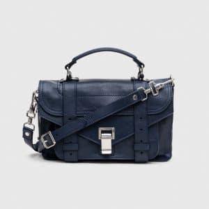 Proenza Schouler Indigo PS1 Tiny Bag