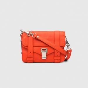 Proenza Schouler Orange Pepper PS1 Mini Crossbody Bag