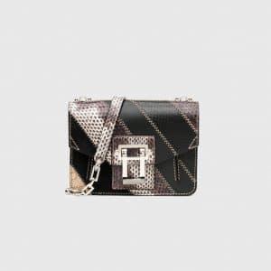 Proenza Schouler Roccia/Warm Sand Ayers Patchwork Hava Crossbody Bag