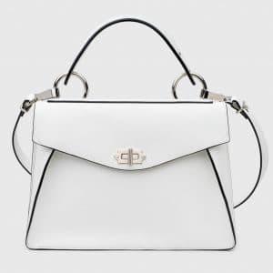 Proenza Schouler White Hava Medium Top Handle Bag
