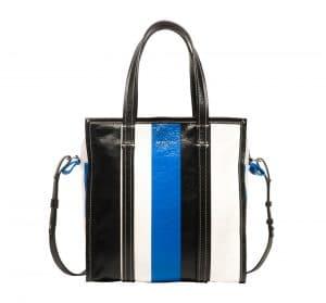 Balenciaga Black/Blue Bazar Shopper S Bag