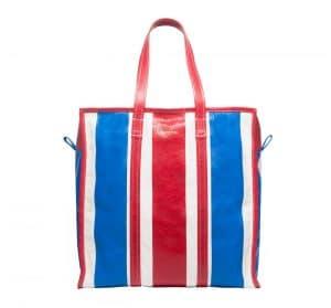 Balenciaga Blue/Red Bazar Shopper M Bag