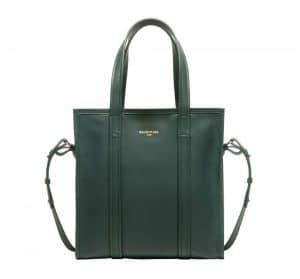 Balenciaga Dark Green Bazar Shopper S Bag