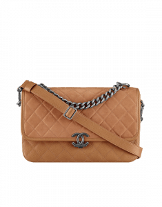 Chanel Beige Daily Carry Large Messenger Bag