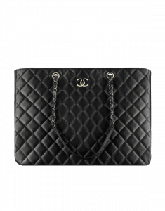 Chanel Black Timeless Classic Tote Bag
