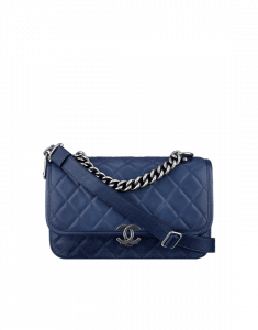 Chanel Blue Daily Carry Medium Messenger Bag