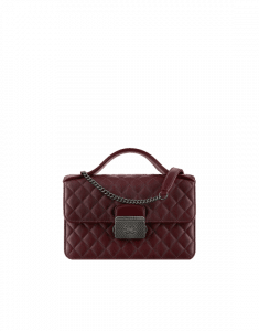 Chanel Burgundy CC University Small Flap Bag