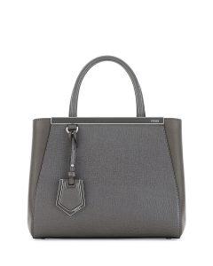 Fendi Dark Gray 2Jours Petite Bag