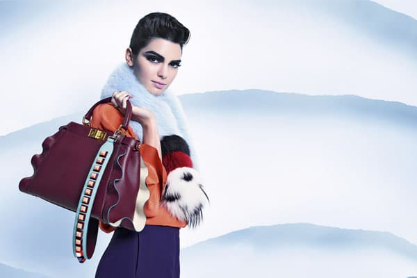 Fendi Fall Winter 2016 Ad Campaign Starring Kendall Jenner  0cf5803534a1b