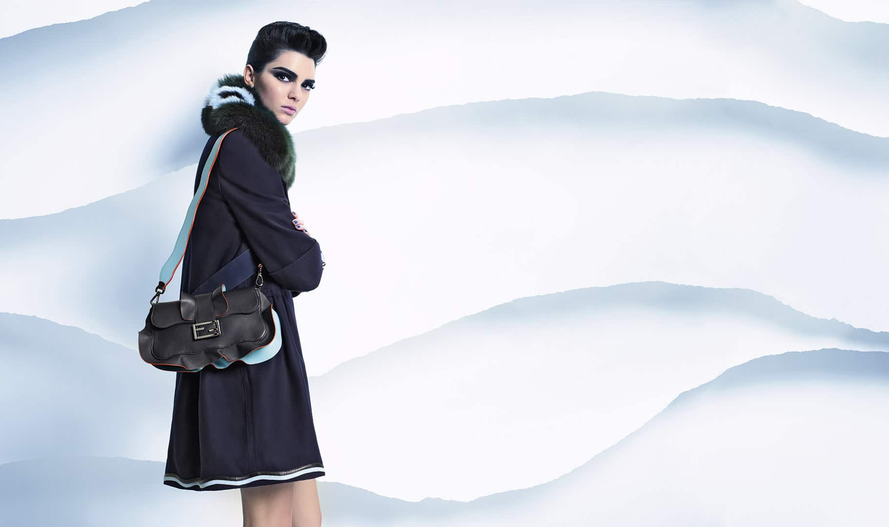 Looks - Fall fendi winter campaign video
