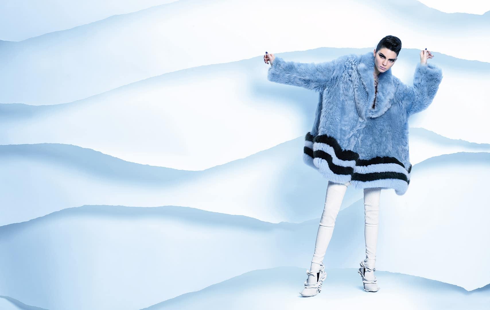 Fendi Fall Winter 2016 Ad Campaign Starring Kendall Jenner