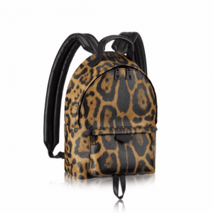 Louis Vuitton Wild Animal Print Canvas Backpack PM Bag