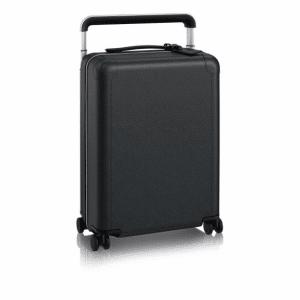 Louis Vuitton Black Taiga Leather Rolling Luggage 55 Bag