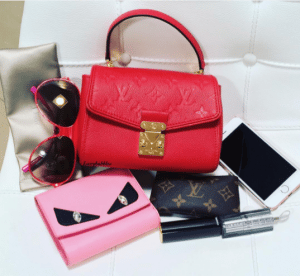 Louis Vuitton Cherry Saint-Germain BB Bag 5