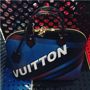 Louis Vuitton Grand Prix Alma Bag