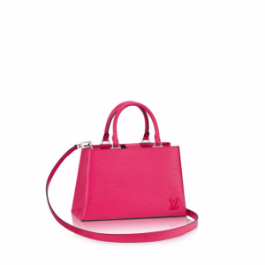 Louis Vuitton Hot Pink Epi Kleber PM Bag