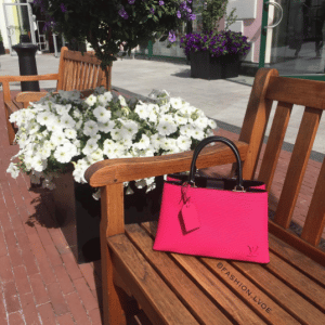 Louis Vuitton Hot Pink/Black Epi Kleber PM Bag 3