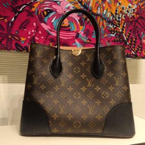 Louis Vuitton Noir Monogram Canvas Flandrin Bag 2