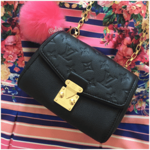 Louis Vuitton Noir Saint-Germain BB Bag 4