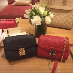 Louis Vuitton Noir and Cherry Saint-Germain BB Bags