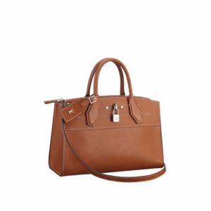 Louis Vuitton Smooth Exclusive Leather City Steamer EW Bag