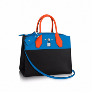 Louis Vuitton Tri-color City Steamer MM Bag