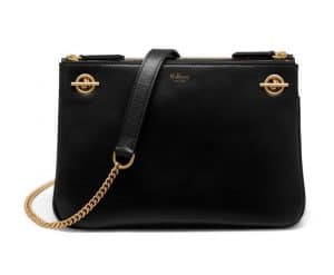 Mulberry Black Smooth Calf Winsley Bag