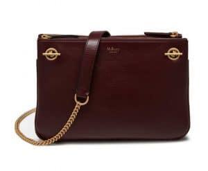 Mulberry Burgundy Smooth Calf Winsley Bag
