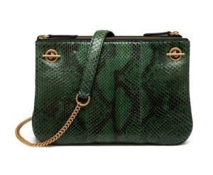 Mulberry Emerald Python Winsley Bag