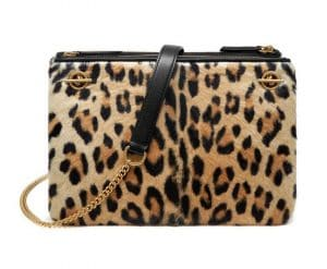 Mulberry Natural Leopard Haircalf Winsley Bag