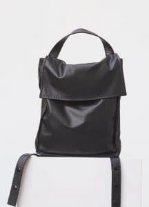 Celine Black Backpack Croissant Backpack Bag