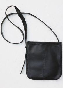 Celine Black Croissant Pouch Shoulder Bag
