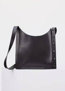 Celine Black Slim Pouch Shoulder Bag