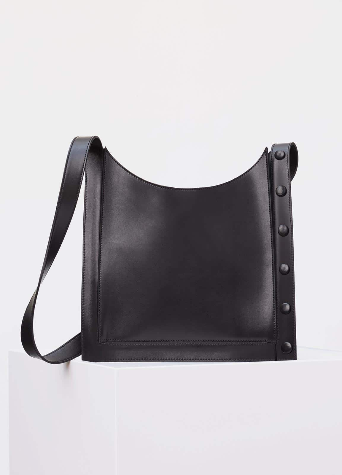 Celine Black Slim Pouch Shoulder Bag