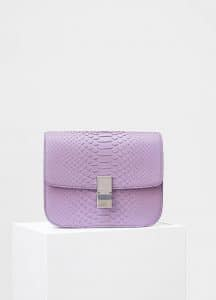 Celine Petal Python Medium Classic Box Bag