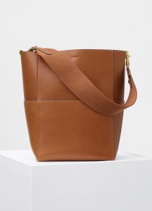 Celine Tan Natural Calfskin Sangle Bag