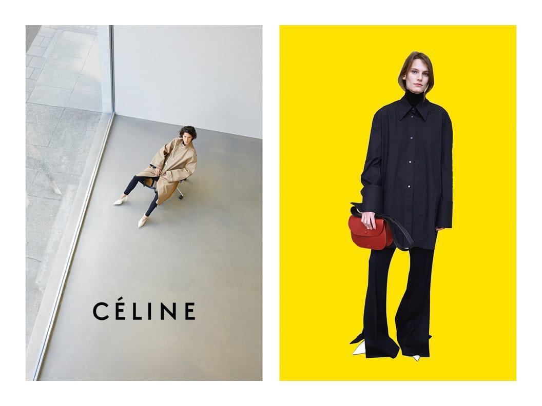 Celine Winter 2016 Ad Campaign Spotted Fashion