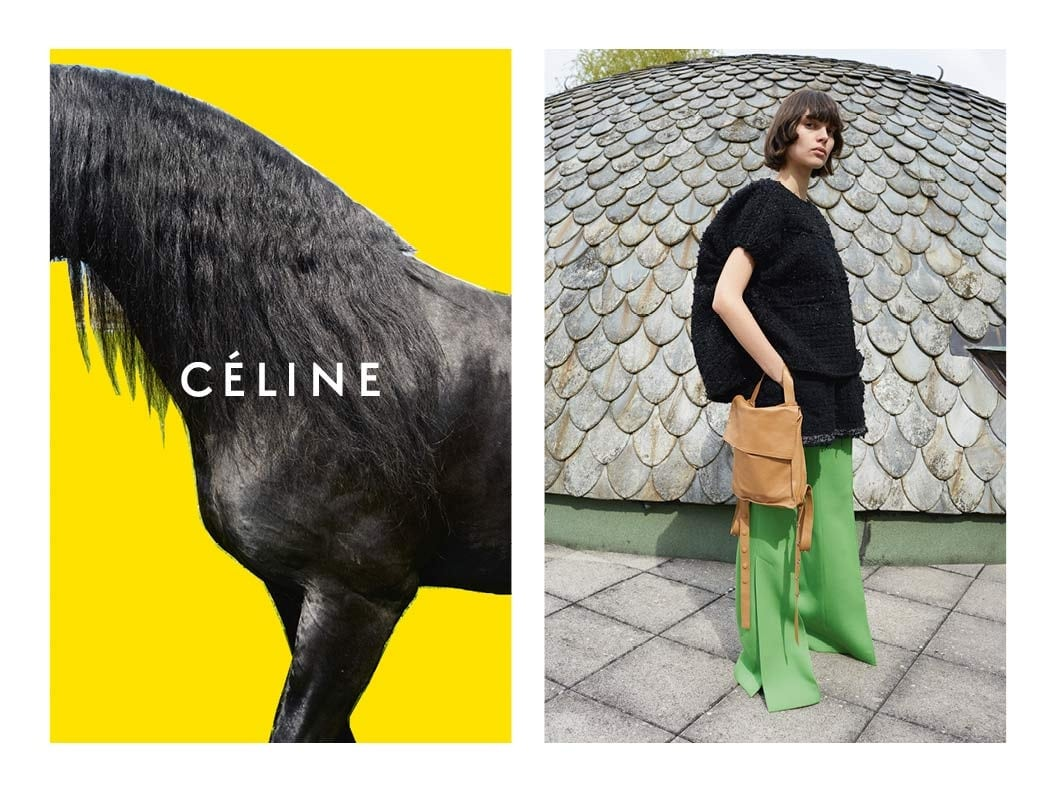 Celine Winter 2016 Ad Campaign Spotted Fashion