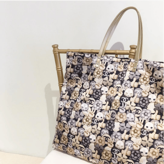 Chanel Fall Winter 2016 Press Day In Hong Kong Spotted Fashion. Lily Bloom  Women S Triple Section Satchel Bag Cat Print 2919eec0fb5e8