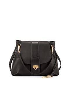 Chloe Black Medium Lexa Bag