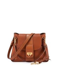 Chloe Caramel Medium Lexa Bag
