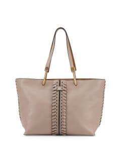 Chloe Motty Grey Medium Keri Tote Bag