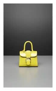 Delvaux Absinthe Alligator Brillant Mini Bag