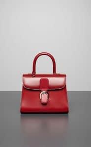 Delvaux Camaieux Rouge de Pourpre Brillant MM Bag
